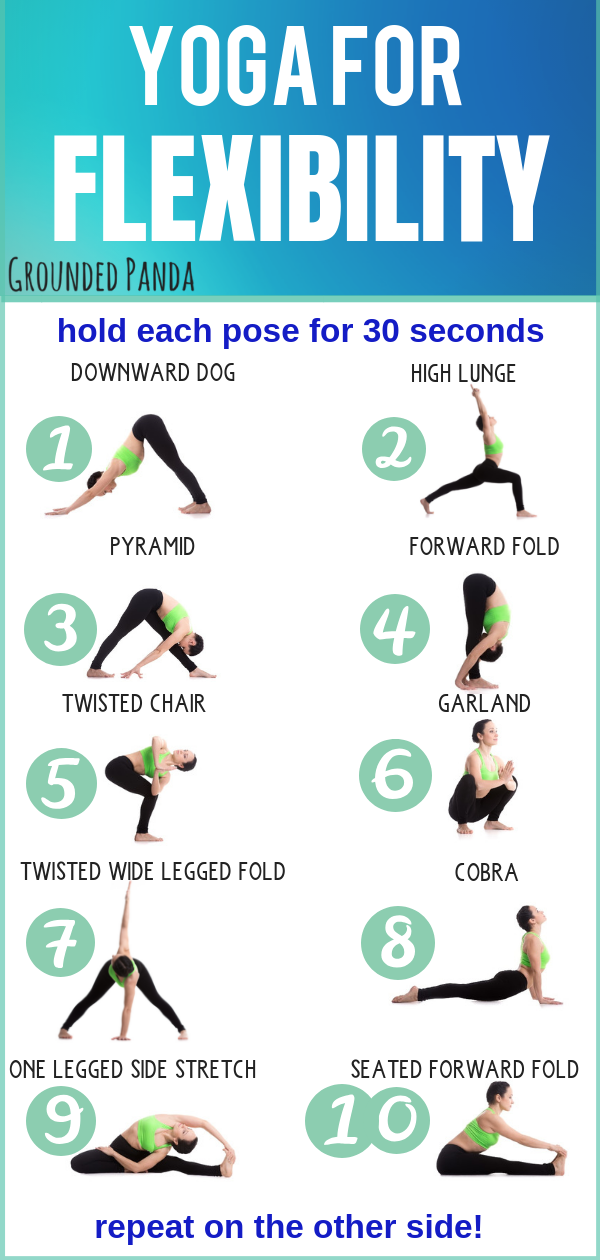 10 Minute Beginner Yoga Routine For Flexibility Free Pdf