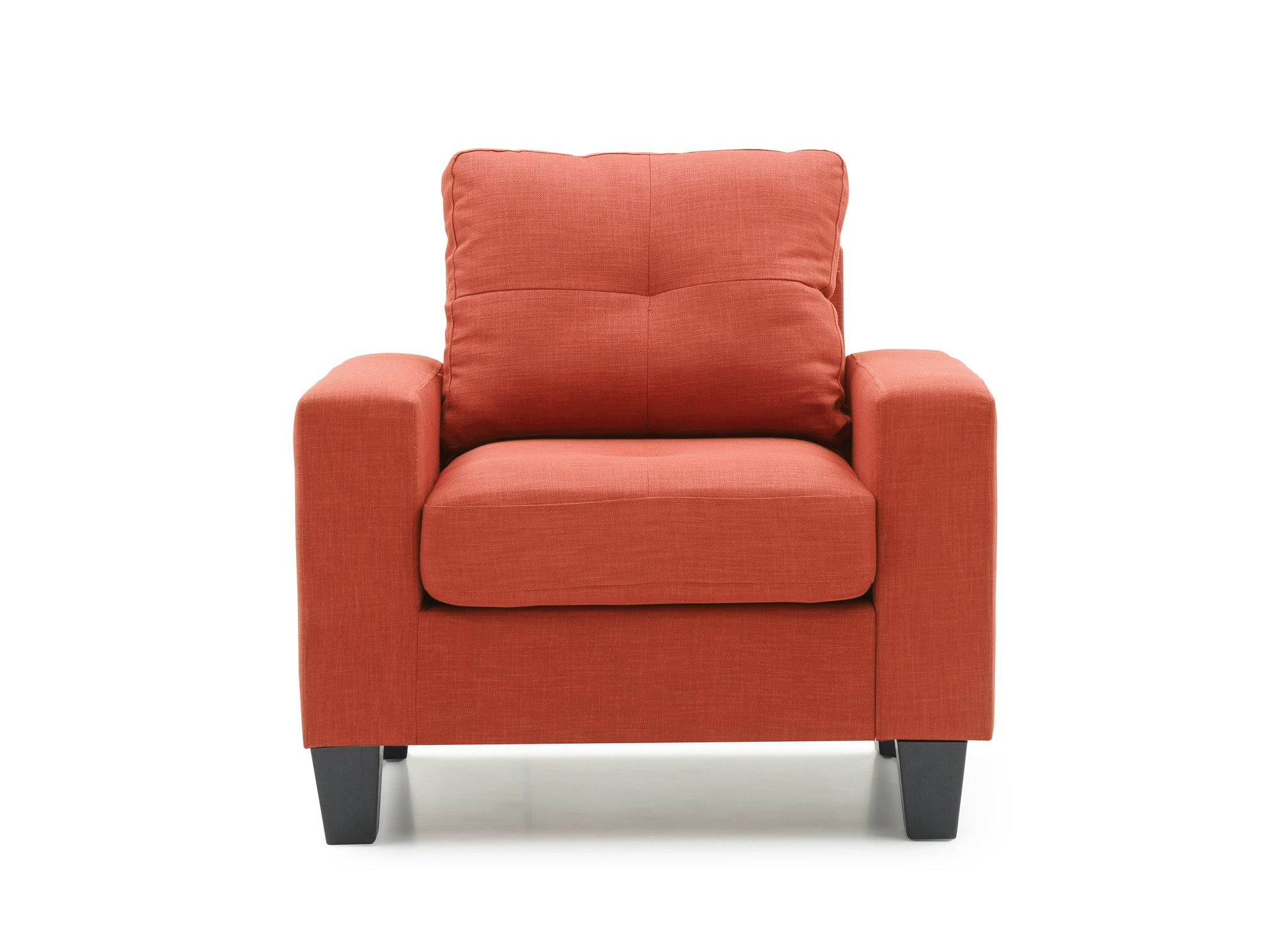 Chandler Slipper Chair Grey Accent Chair Armchair