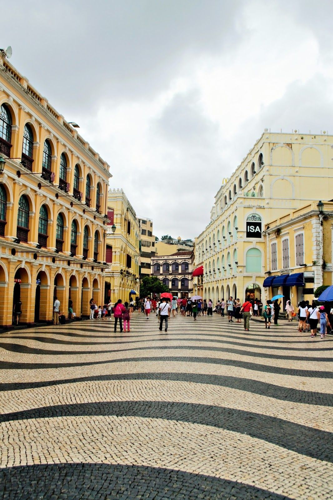 Senado Square in Macau- Most atmospherical corner in Macau…