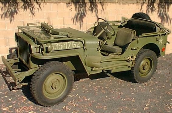 GODFATHER OF ALL 4X4: 1945 Willys Jeep. (With images)   Willys ...