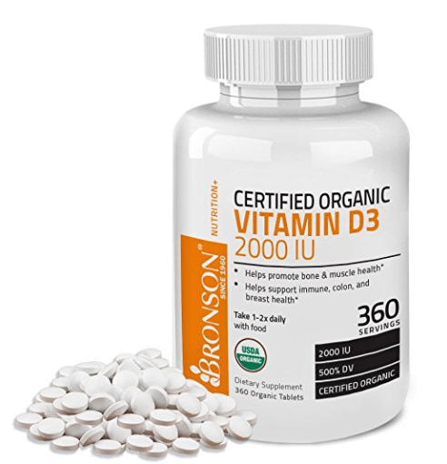 7 Of The Best Vitamin D3 Supplements For 2018 Organic Vitamins