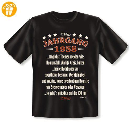 Geburtsjahr 1958 T-Shirt Jahrgang 1958 ...so geht´s glücklich auf