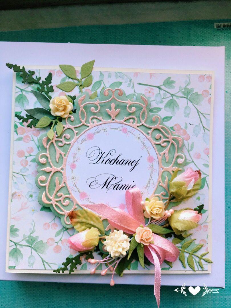 Kartka Dla Mamy Dzien Matki Dla Mamy Mum Mothers Day Kartki Na Rozne Okazje Hand Made Cards Home Decor Tableware Handmade