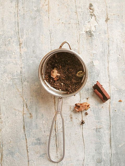 Masala Chai: Warm, sweet and spicy, India forever! Thanks to @Steven Trotter McGaughey