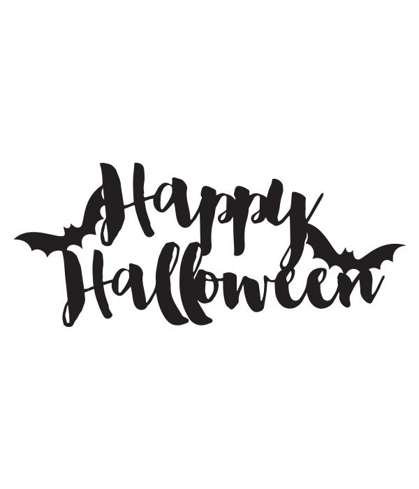 Happy Halloween Svg File Happy Halloween Signs Halloween Stencils Halloween Templates