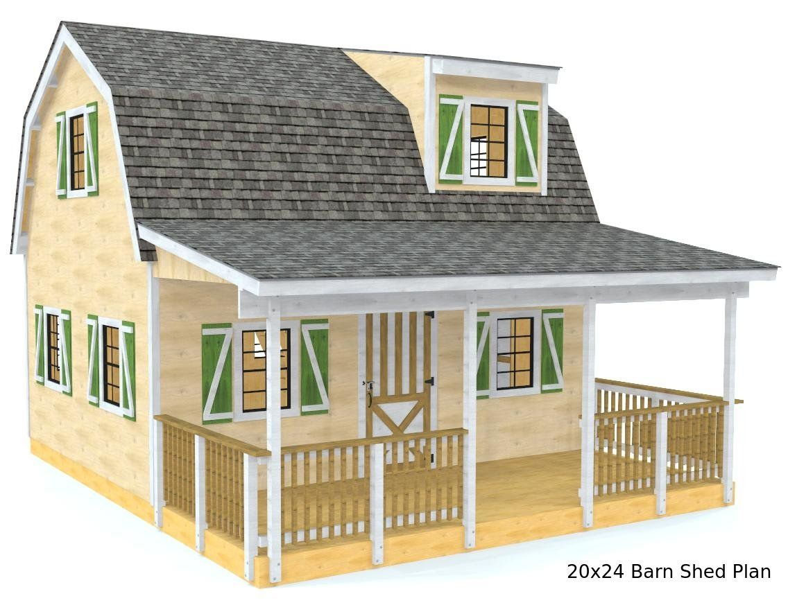 Barn Shed Plan 3 Sizes Small Shed Plans Barns Sheds Diy Shed Plans