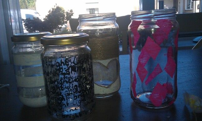 Pimed up some jars