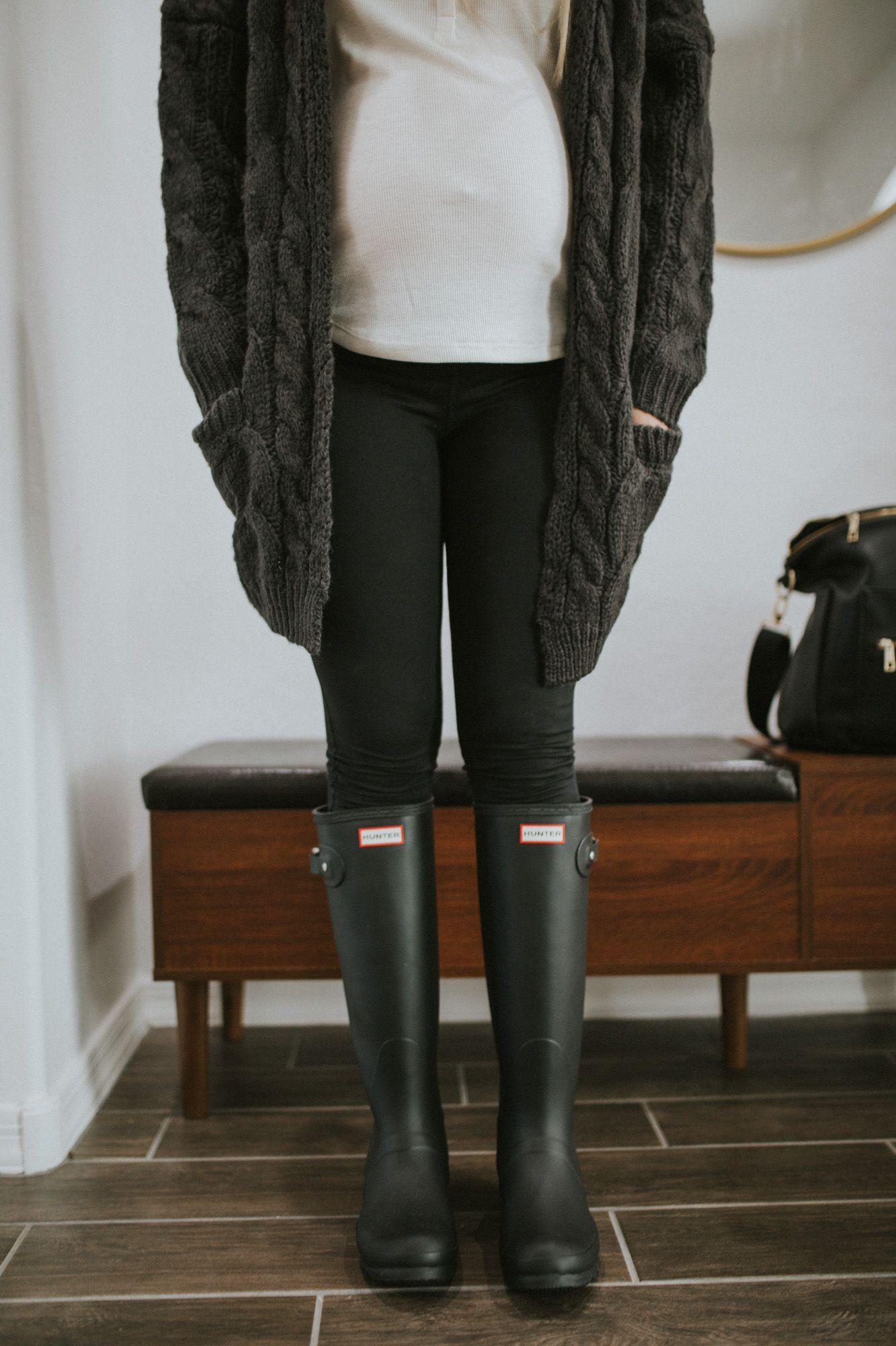 b90dd8c44fa Hunter Original Rain Boots vs. Hunter Original Refined Rain Boots + ...