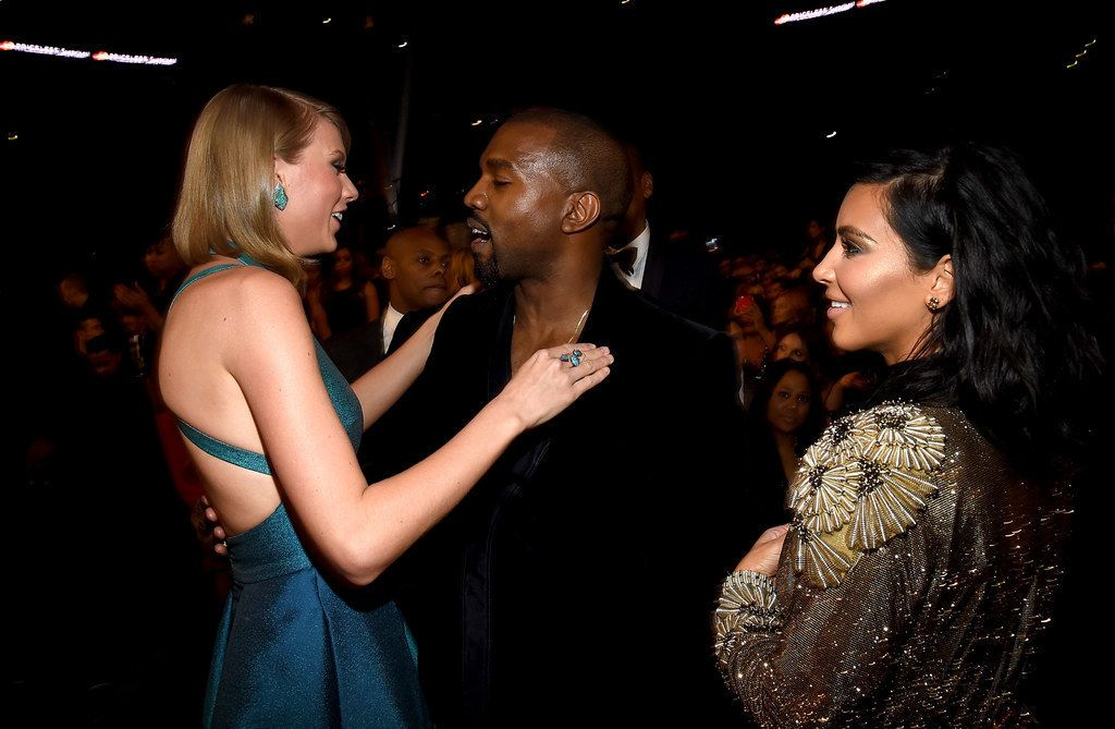 Today Will Forever Be Known As The Day Kim Kardashian And Taylor Swift Had That Epic Online Feud Taylor Swift Kanye West Celebrity Feuds Kanye Taylor