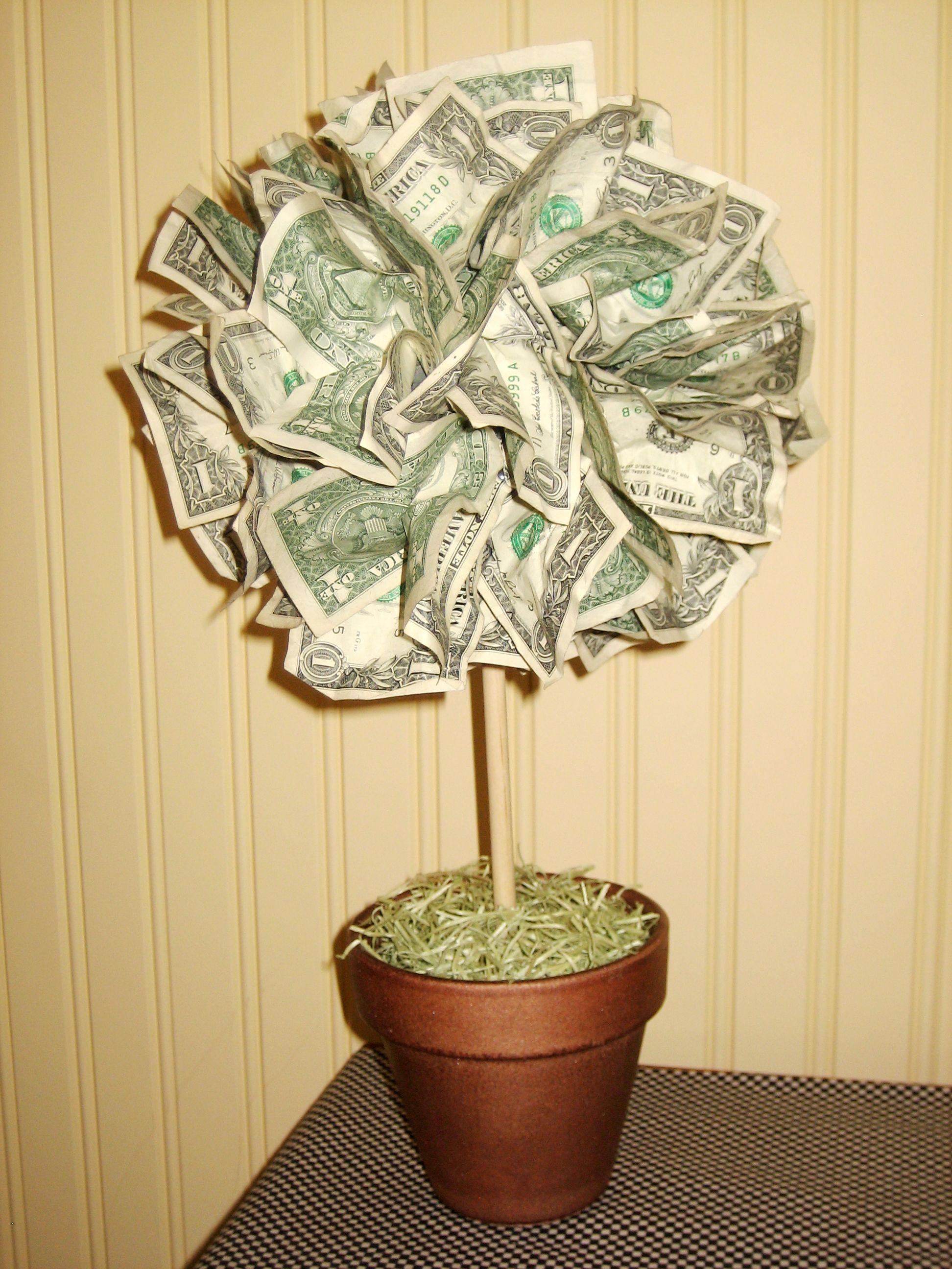 money tree ideas wedding | images of money tree i made for ...