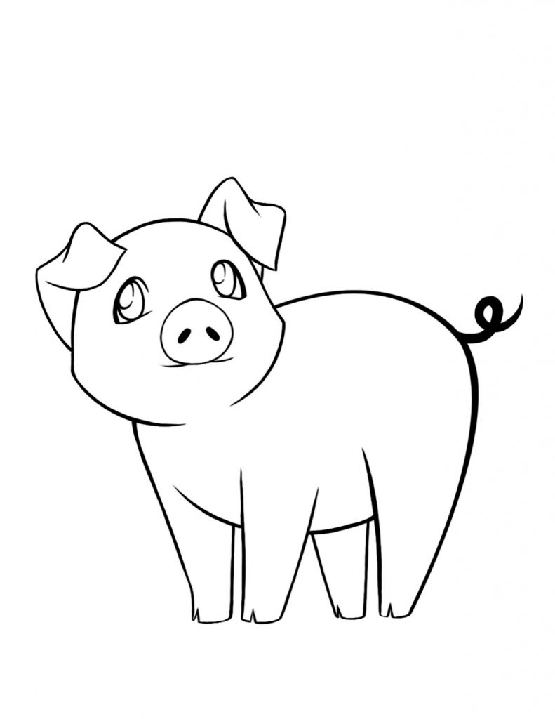 Coloring Pages Of Baby Pigs - Coloring Pages | Barnyard Round up VBS ...