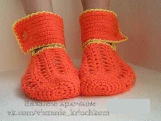 Delicadezas en crochet Gabriela: Calcetines Mallas   Para hacer ...