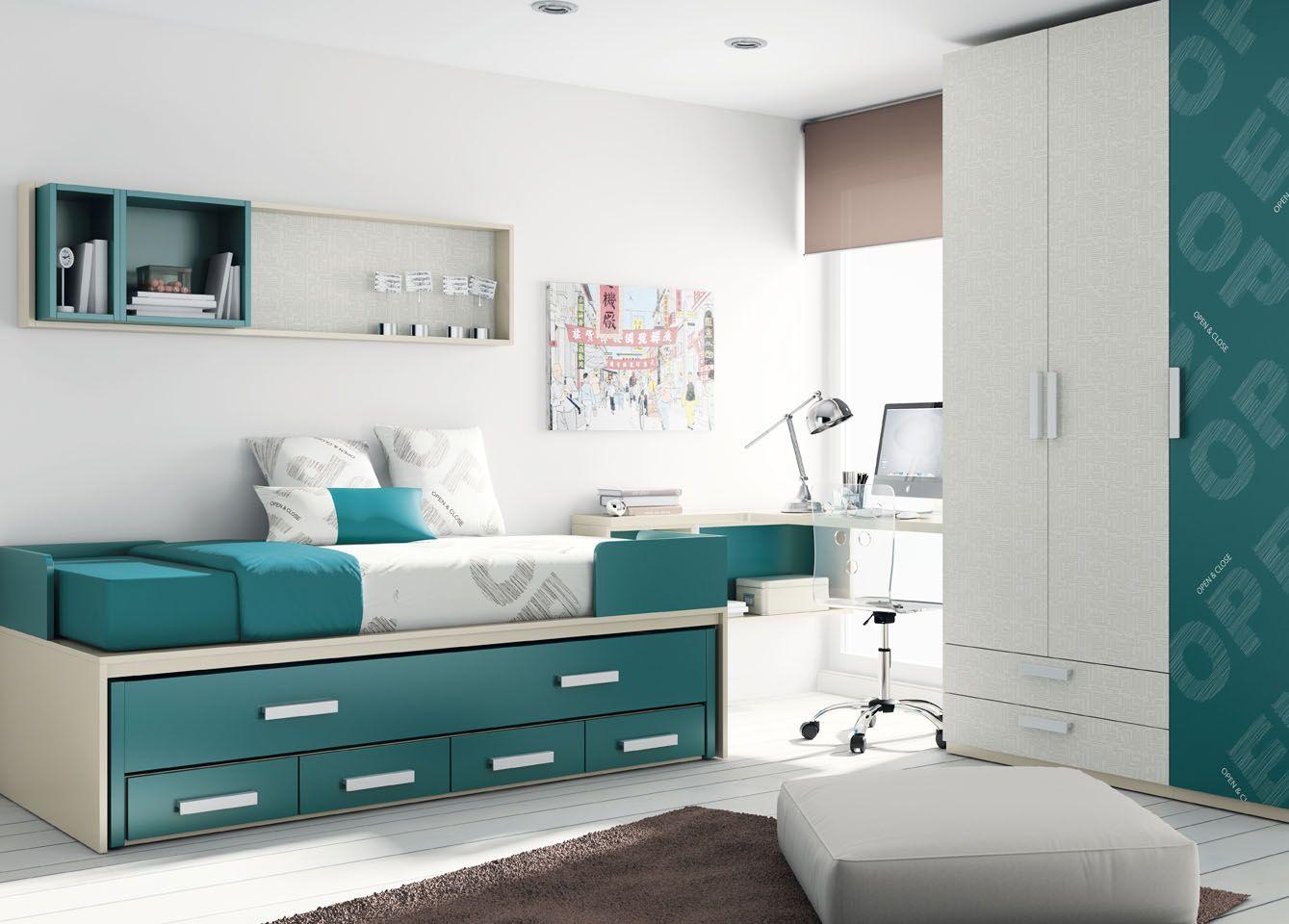 Habitaci n juvenil de muebles ros lo tiene todo - Muebles habitacion juvenil ...