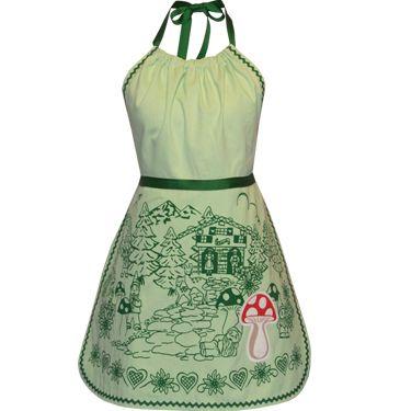 gnome forest apron