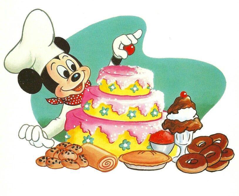 Mickey the baker