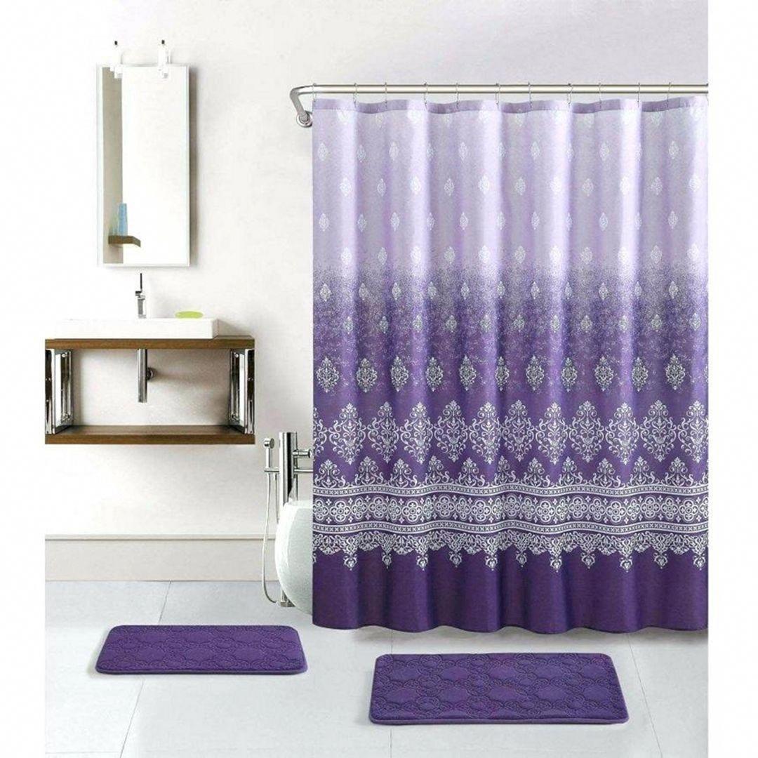 Bathroomfurnituregrey Purple Shower Curtain Purple Bathroom Accessories Purple Bathrooms