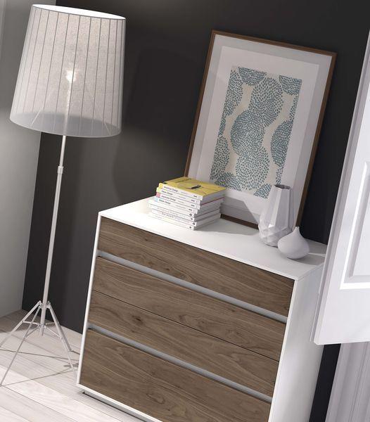 Detalle ambiente 04 muebles chapa natural dormitorio mesegue soft 2 0 pinterest muebles - Muebles de chapa ...