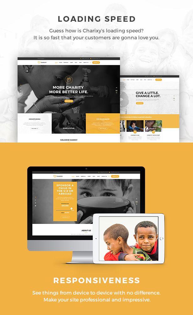 Charixy - Charity/Fundraising WordPress Theme | Charity