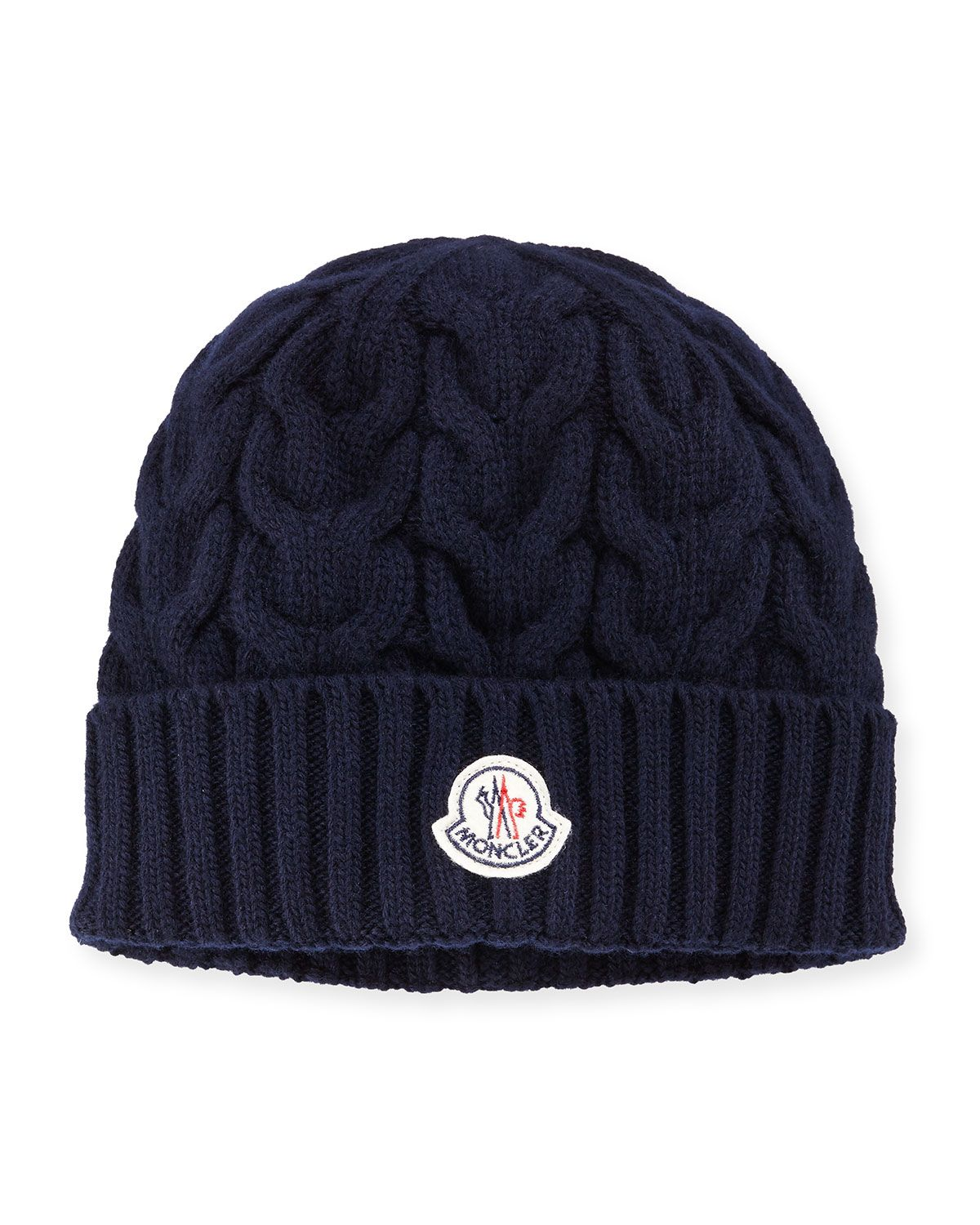 Cashmere Cable-Knit Beanie Hat 4f281304af5