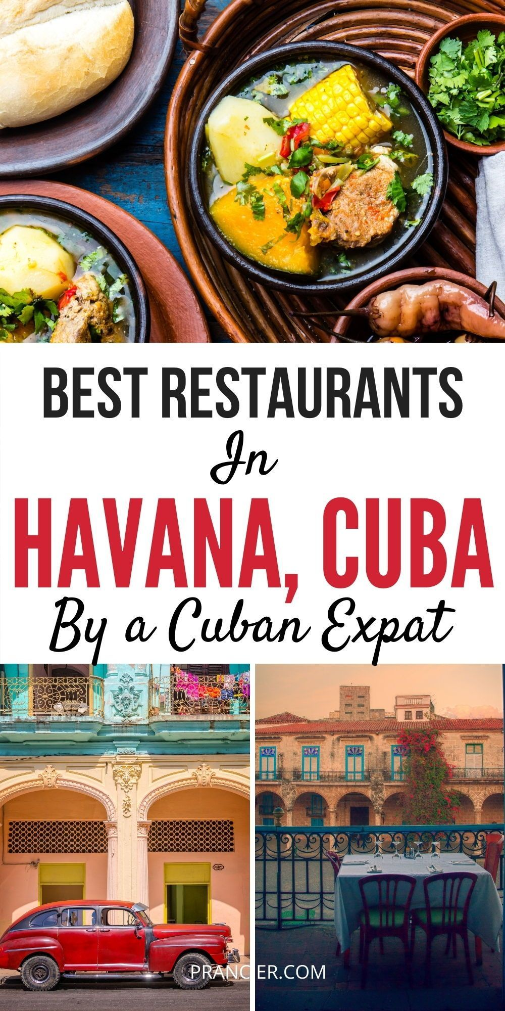 Check out this article for the best food and restaurant in Havana. The Best Things to do in Havana, Cuba at night and the best Havana entertaiment, cultural and restaurant tips and hidden gems. From exploring the best Cuban food in Havana Vieja and taking classic car rides to finding the best rooftops and the secret Cuban spots. #havana #cuba #travel #Caribbean #thingstodo #cuban #cubatravel #havana #barsinhavana #havanacuba #havanafood