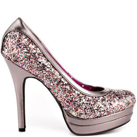 97c31c6f97e47 Chance - Multi Glitter by Baby Phat | Chooze | Shoes, Glitter shoes ...