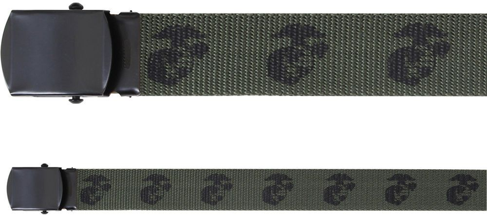Details about Olive Drab Marines Web Belt 54