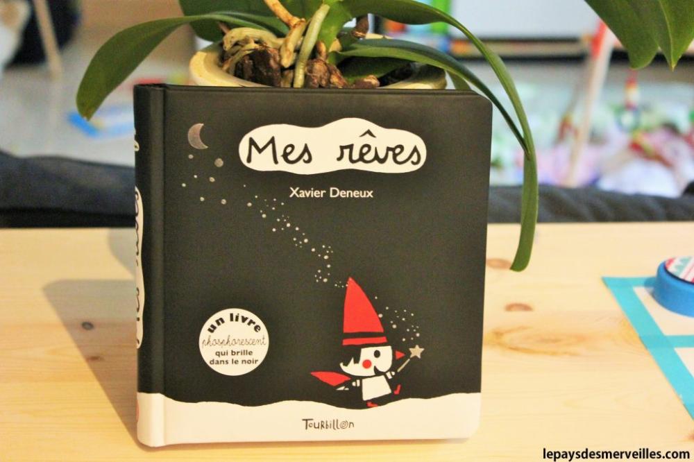 Mes Reves Livre Phosphorescent Editions Tourbillon