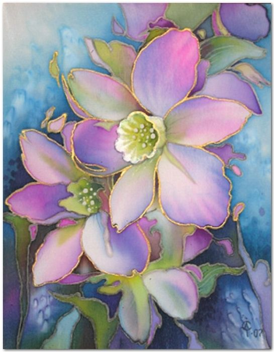 Pin by on pinterest silk painting silk and silk painting dress painting painting flowers watercolor flowers art flowers flower art watercolor art flower paintings watercolor pictures mightylinksfo