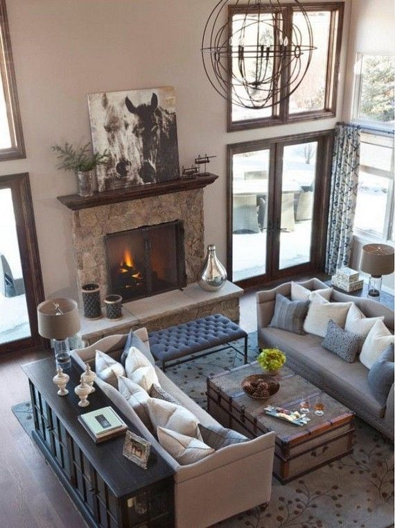 living room ideas with fireplace layout furniture on family picture wall ideas for living room furniture arrangements id=28365