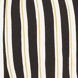 f402eb46970 Women s Plus Size Striped Short Sleeve Belted Wide Leg Jumpsuit - Who What  Wear  Black
