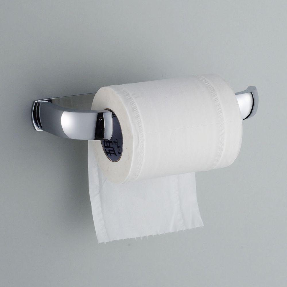 Paper Holders Cheap Price 5 Year Warranty High Quality Wholesale Promotion Premium Matte Black Bath Tissue Hook Brass Bathroom Rolling Paper Holder