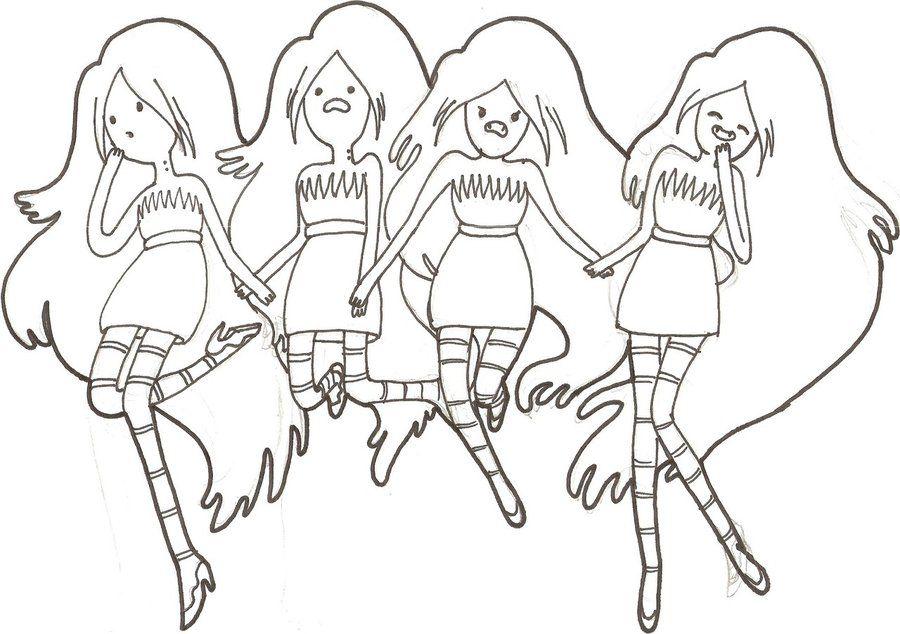 desenhos da marceline para colorir e imprimir | Desenhos e bonecas ...