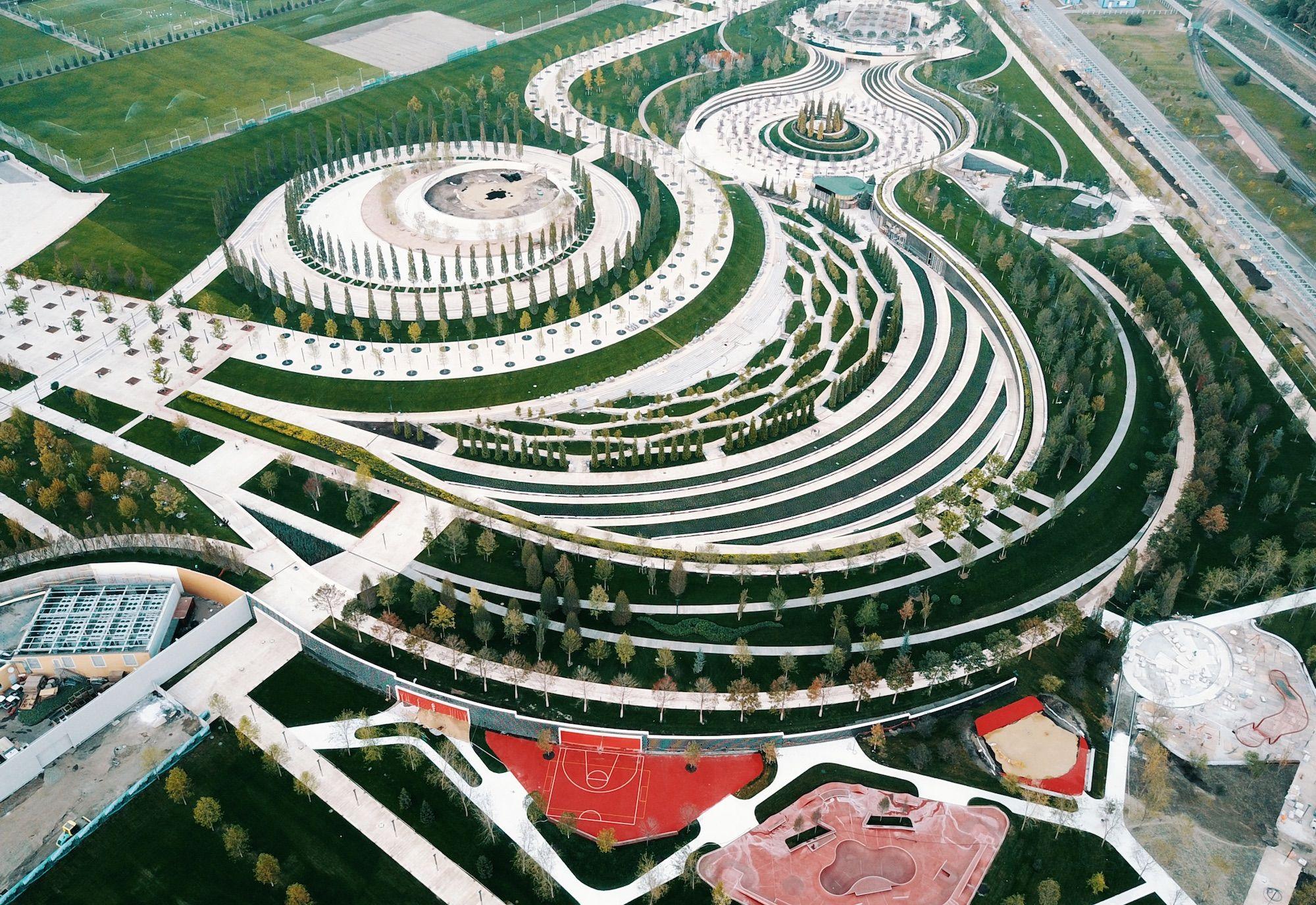 Circular Circle Landscape Design Landscape Design Drawings Landscape Landscape Plans
