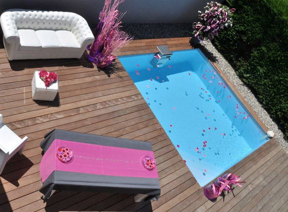 mini piscine prix et infos pour bien choisir small pools spas quintal areas externas. Black Bedroom Furniture Sets. Home Design Ideas