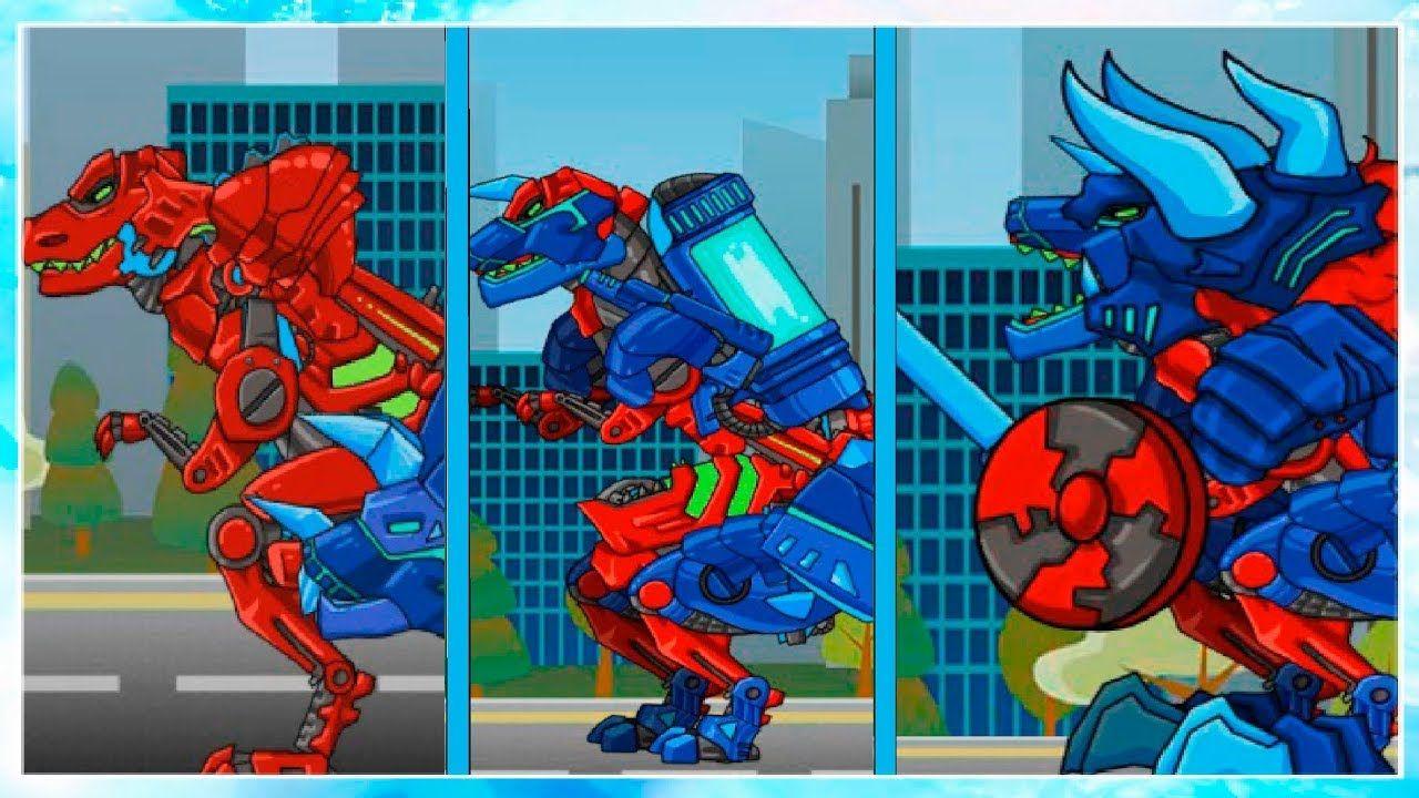 Динозавр Рекс Супер Шторм Мультики для детей Трансформеры ...
