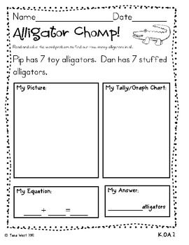 Addition word problems aligned to the common core picture tally addition word problems aligned to the common core picture tally equation fandeluxe Gallery