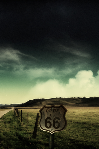 Route US 66 IPhone Wallpaper