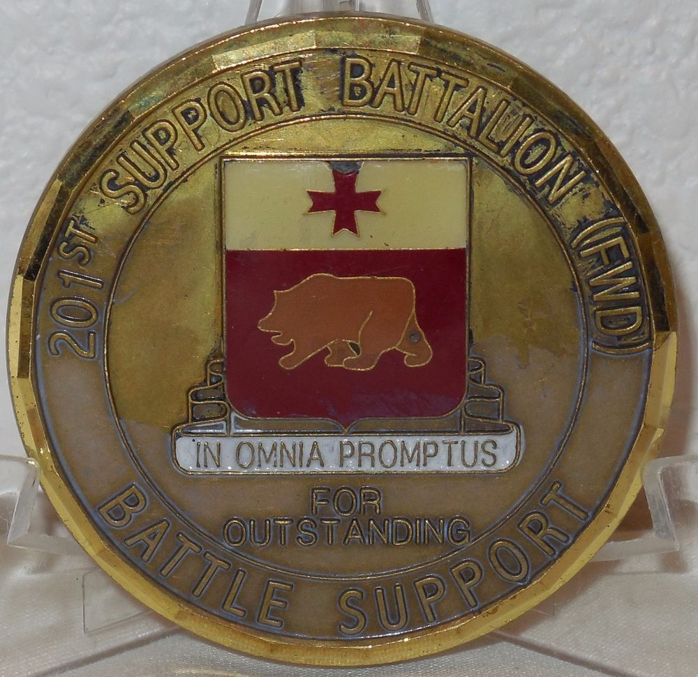 201st Battle Support Battalion Forward 1st Infantry