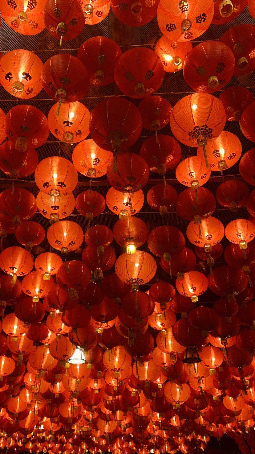 Lunar New Year Lanterns 9x16 Taken On Iphone Xr Mobilewallpaper 9x16 Iphone Lanterns Lunar Mobil In 2021 Orange Wallpaper Orange Aesthetic New Year Wallpaper New year 2021 orange hd background