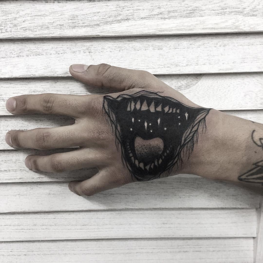 Stuff Image By Beveno Gami Joker Mouth Tattoo Mouth Tattoo