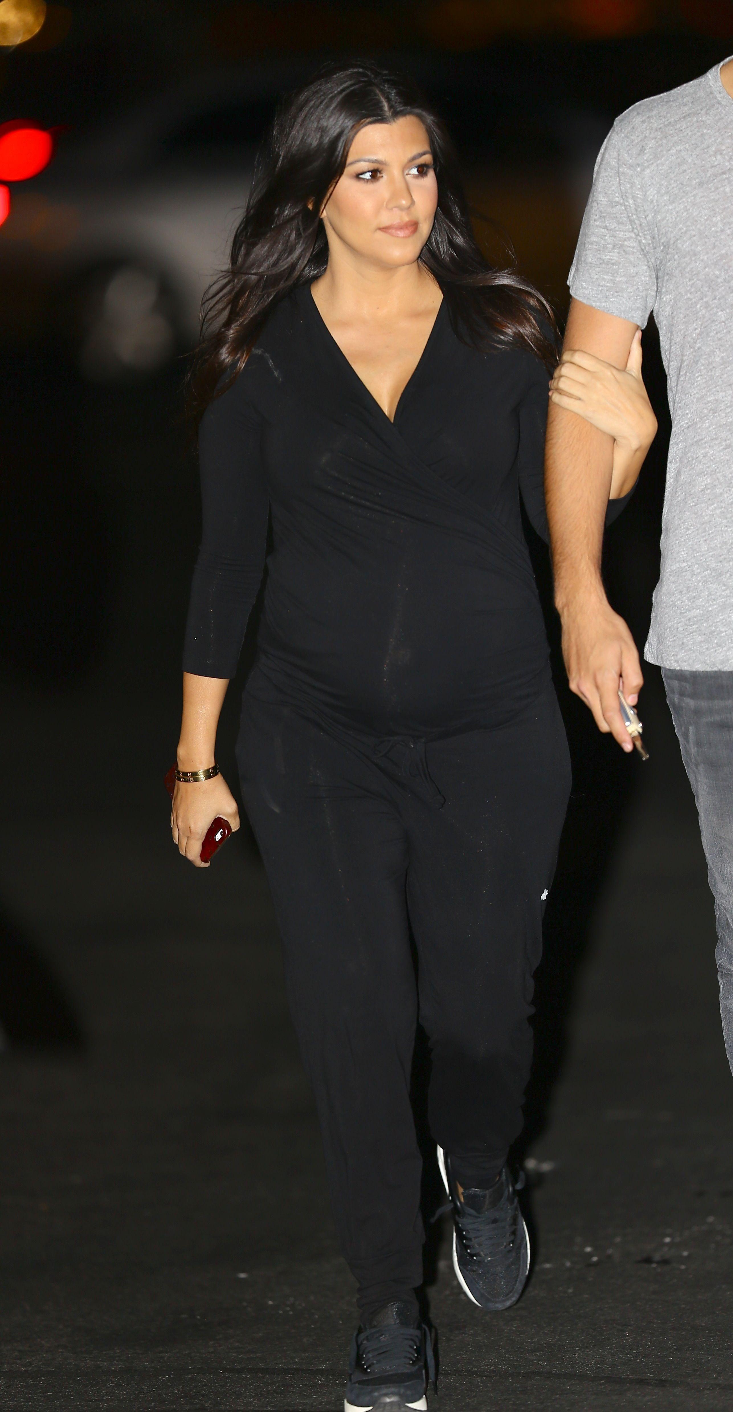 Kourtney kardashian in our rosliston maternity jumpsuit httpwww kourtney kardashian in our rosliston maternity jumpsuit httpisabellaoliver ombrellifo Images