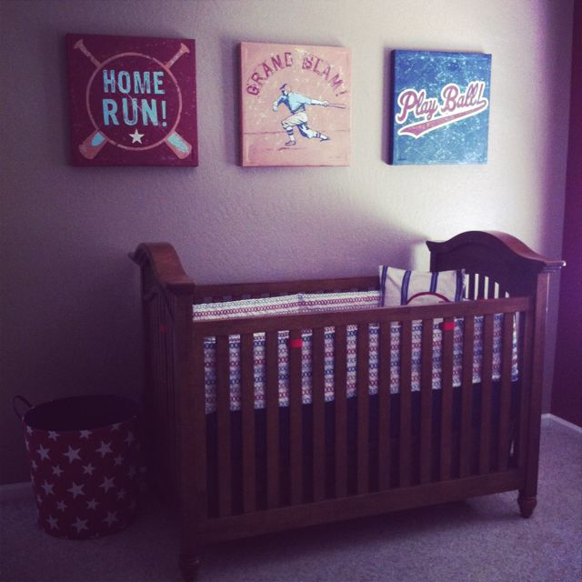Baseball Nursery Vintage Really Loving The Baseball