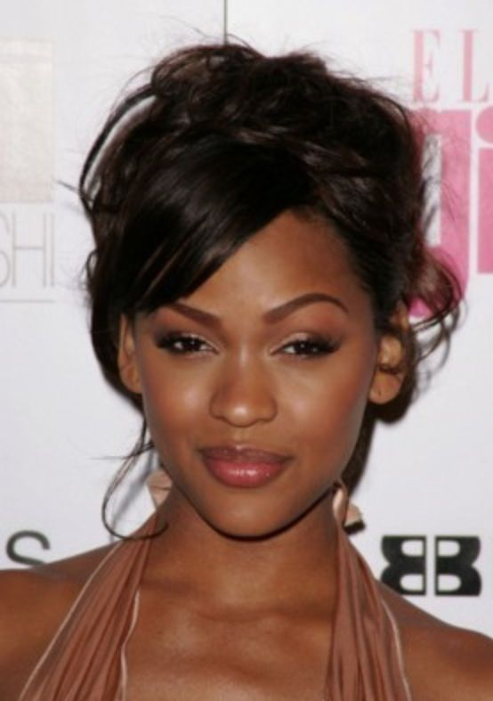 Meagan Good Makeup Meagan Good Pinterest Hair Hair Styles