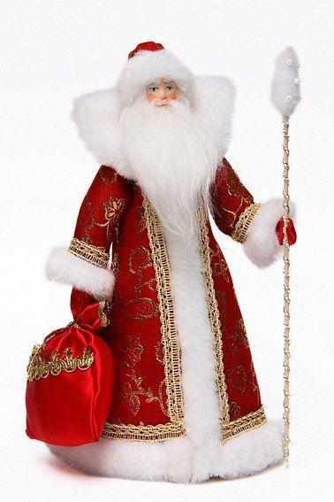 Русские куклы. Дедушка Мороз и Снегурочка.   Deda Mraz   Pinterest ... deb4f2af5176