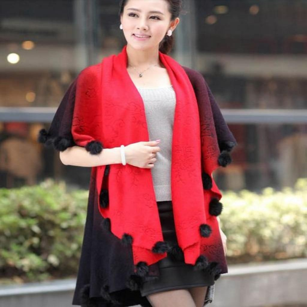 Knitted Loose Batwing Sleeve Winter Cardigan   Products