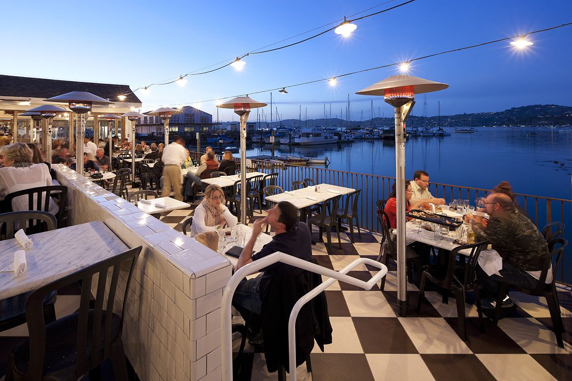 Heated Outdoor Dining With Incredible Views Salito S Crab