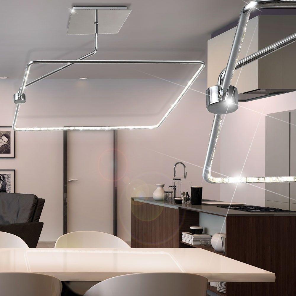 Lusso Luce Copertura LED Ufficio Illuminazione Cucina Lampadario A ...