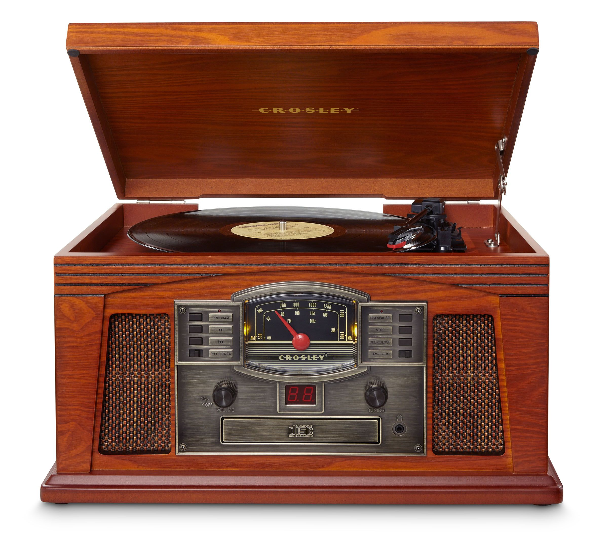 Nice Crosley | Lancaster   Paprika #crosley #entertainmentcenter #turntable  #recordplayer #vintage #