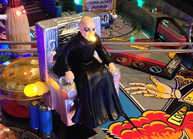 Pinball Decals, Inc. - The Addams Family Uncle Fester Mod