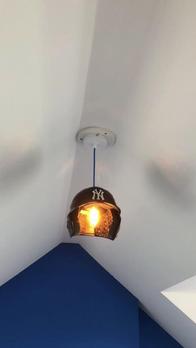 Baseball Helmet Lamp Baseball Helmet Ceiling Lights Lighting